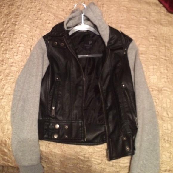 half leather