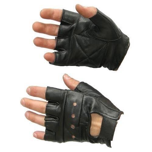 Half Finger Leather Gloves