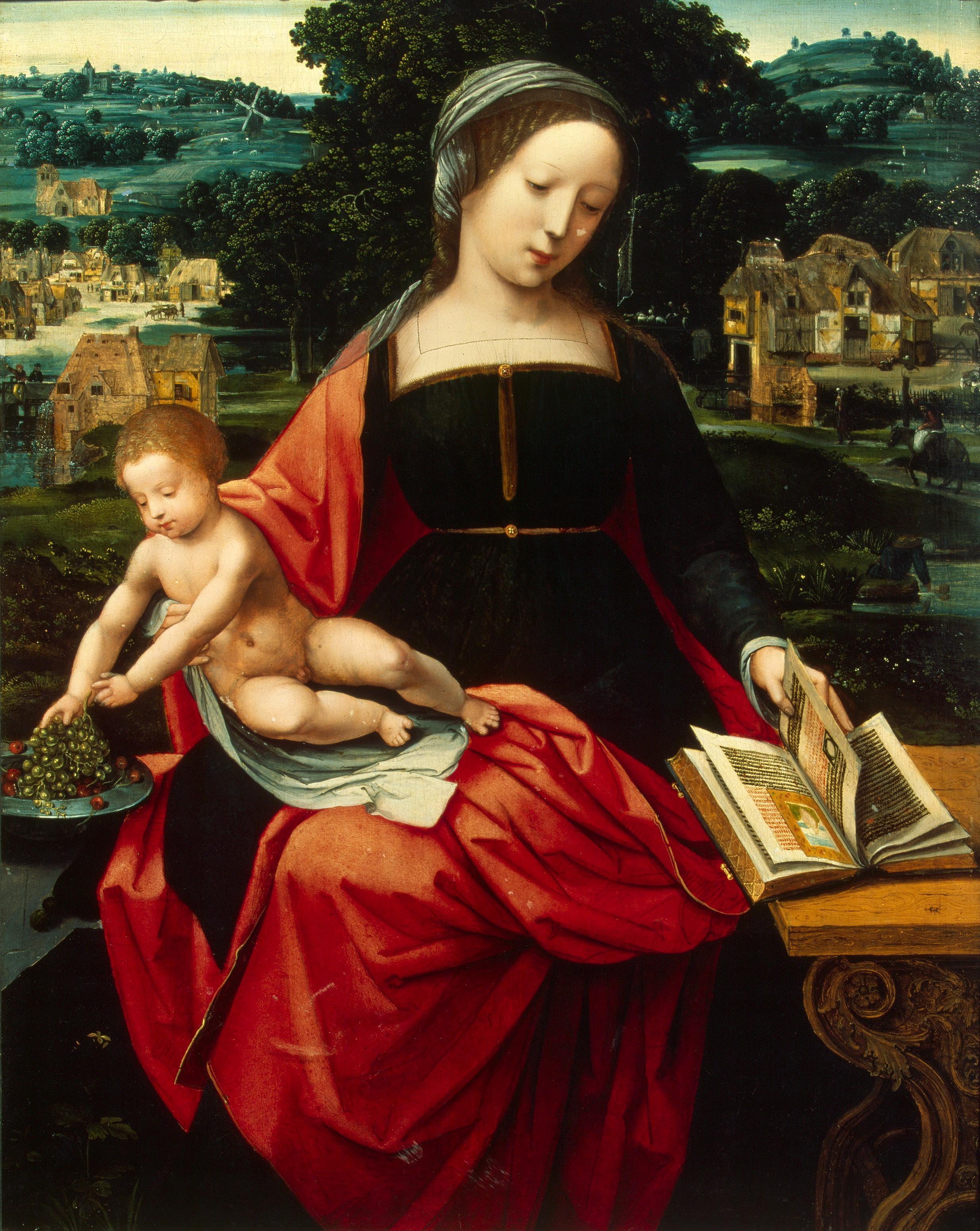 File:Master Of Female Half-Length - Madonna and Child - WGA14387.jpg