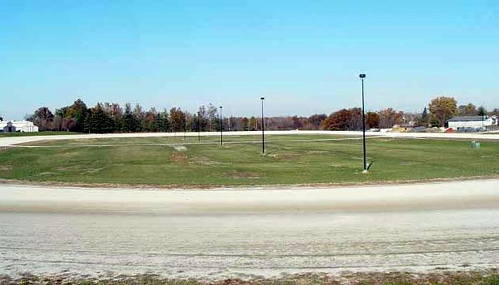 Infield, One-Half Mile Track