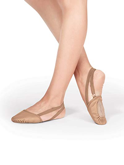 Leather Dance Half Sole T8970TANXS Tan XS