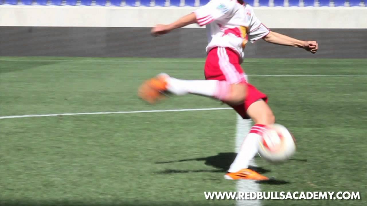 Shooting - Half Volley [New York Red Bulls Academy]