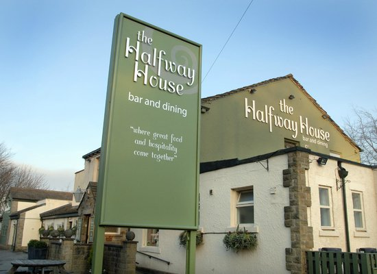 The Halfway House: New Signage