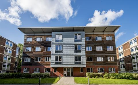 Our halls of residence
