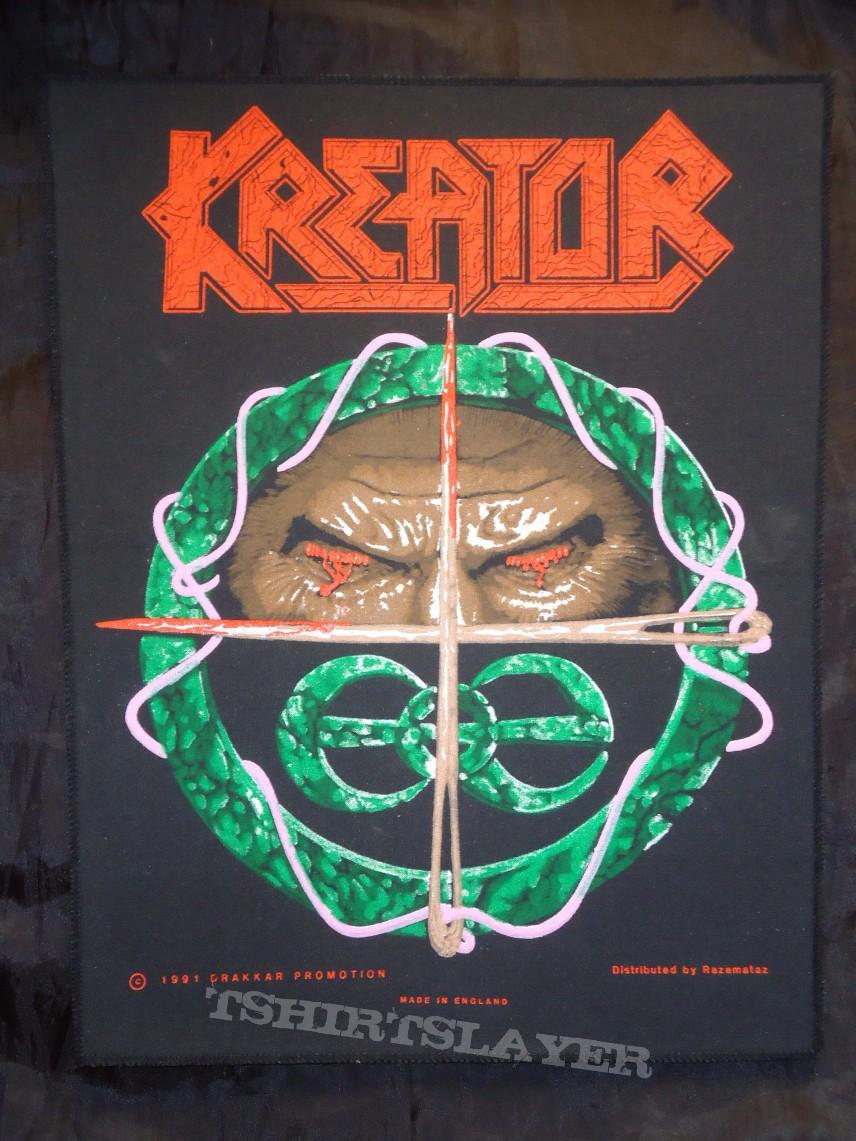 Backpatch Kreator - Hallucinative Comas (Original 1991)