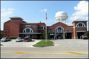 T Estación central de bomberos de Haltom City