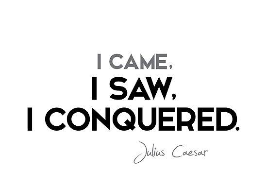 I came, I saw, I conquered - julius caesar by razvandrc