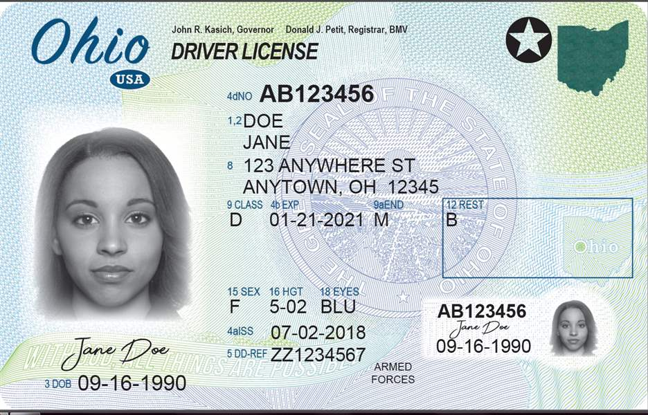 The compliant ID will grant people access to federal buildings, domestic  flights and military bases. The purpose of these new IDs is to prevent