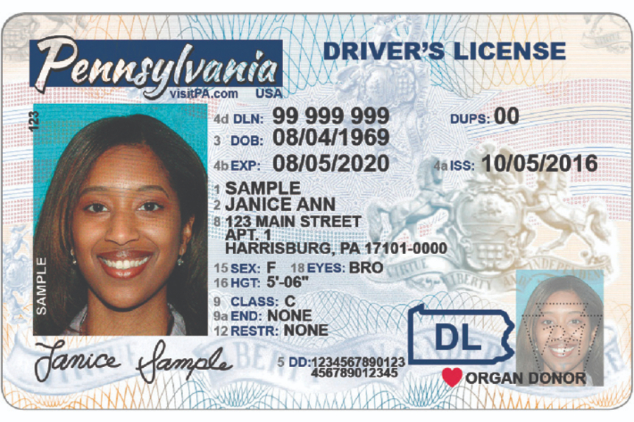 real-id-pa license