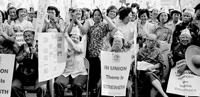 Memories of the 1982 ILGWU Strike in New York Chinatown