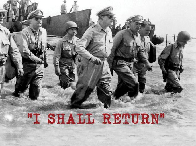 """I Shall Return"""