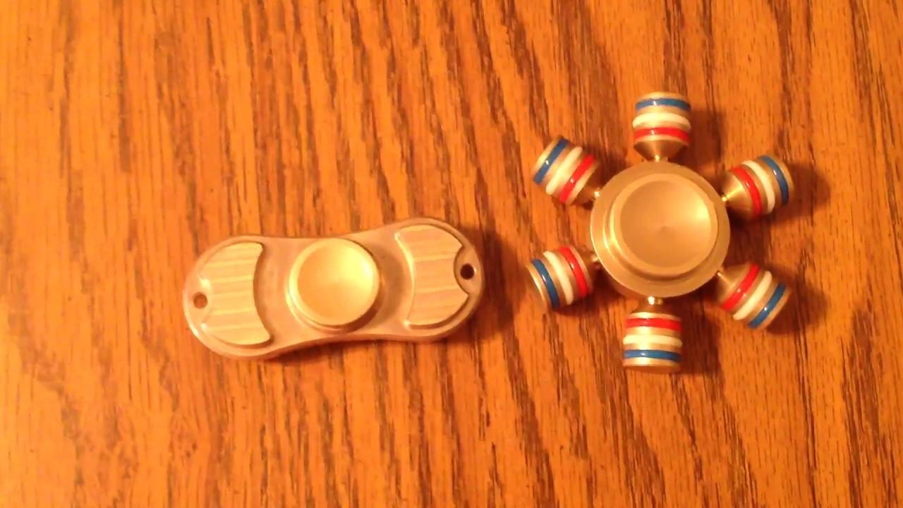 Torqbar fidget spinner vs I spin fidget spinner