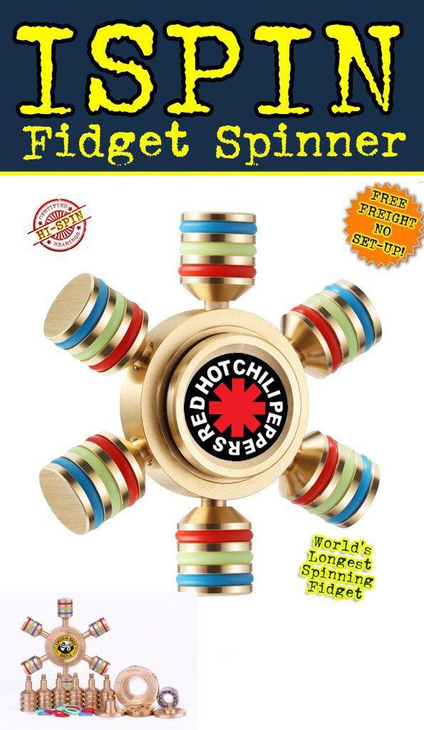 I-SPIN Premium HI-SPIN Metal Fidget Spinner