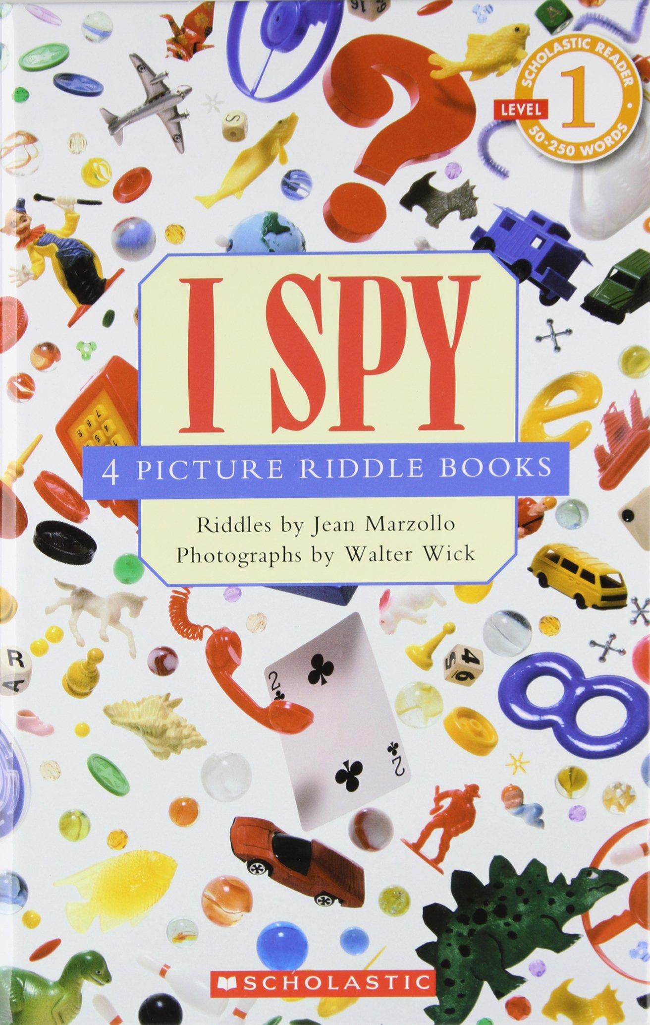 Traveller Location: Scholastic reader, Level 1: I Spy 4 Picture Riddle Books  (9780439763097): Jean Marzollo, Walter Wick: Books