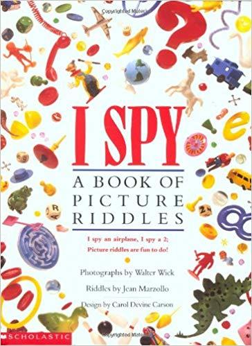 I Spy: A Book of Picture Riddles: Amazon.es: Jean Marzollo, Walter Wick:  Libros en idiomas extranjeros