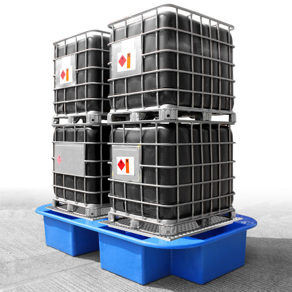 IBC Bund, Spill or Sump Pallet for 4 IBC