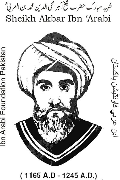 Ibn-al-Arabi; born: 1165, Murcia, Spain; obit: Damascus 1240 Abu Bakr  Muhammad