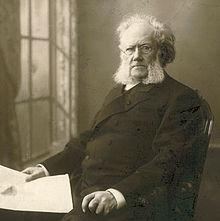 Henrik Ibsen fotografiado por Gustav Borgen