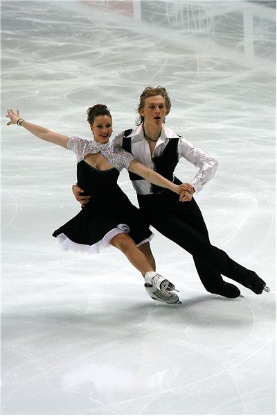 Ice Dance. Dancing
