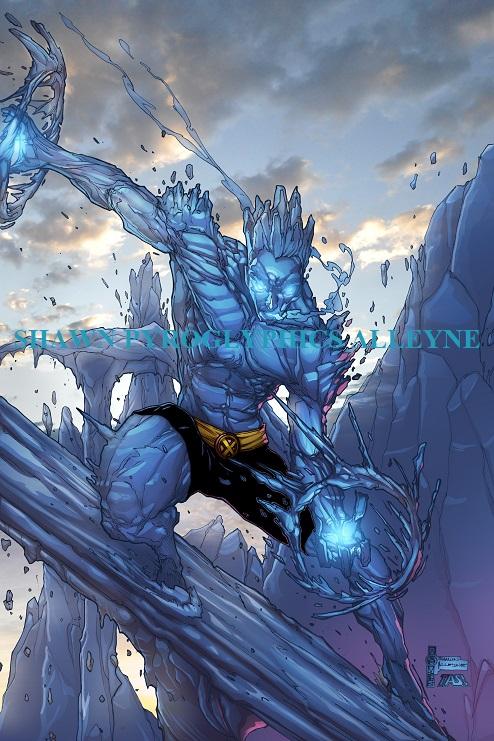 Iceman by pyroglyphics1
