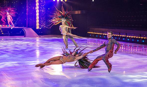 Hot Ice Dream performance