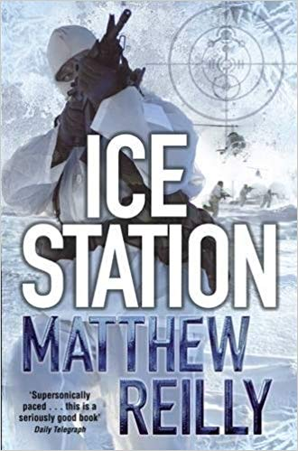 Ice Station (The Scarecrow series): Traveller Location.uk: Matthew Reilly:  9780330513463: Books