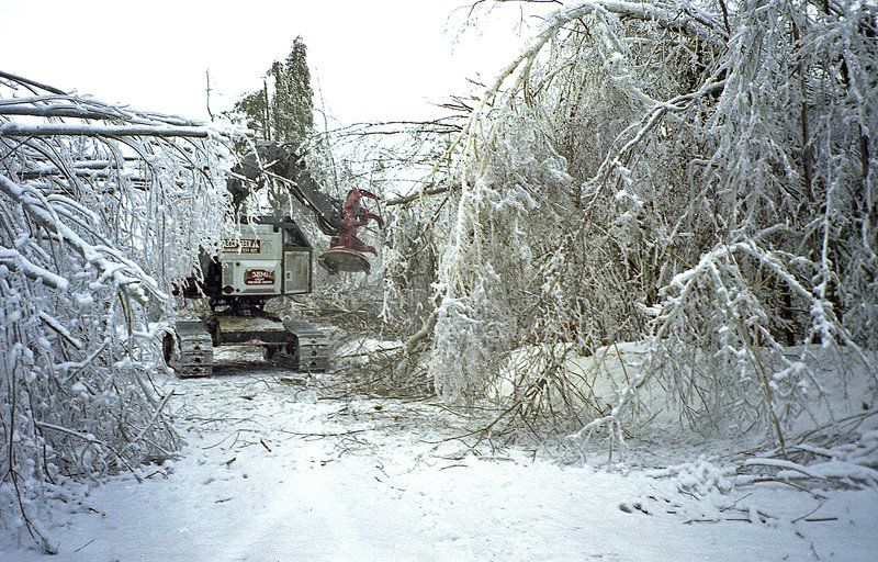 Ice storm major story of century