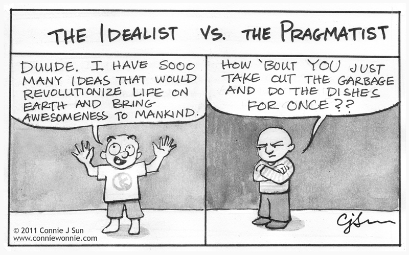 idealistic