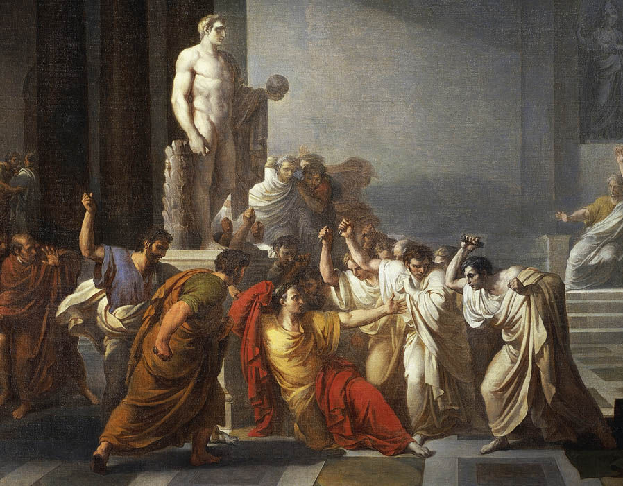 The 15th of March was known to ancient Romans as The Ides of March, which  became notorious as the date of the assassination of Julius Caesar in 44BC