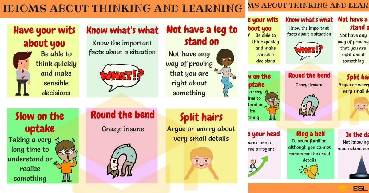 Common Idioms about Thinking and Learning in English 1