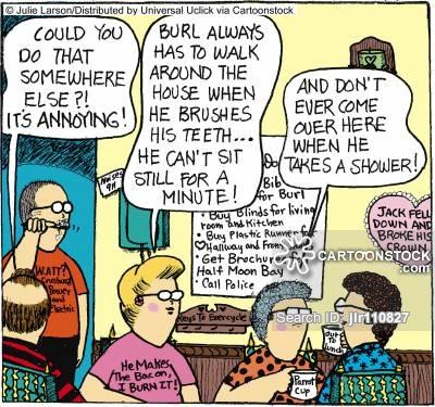 Idled Cartoons and Comics