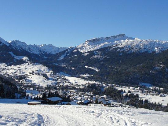 Söllereck: Panorama mit Hohen Iffen