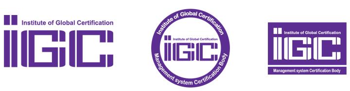 IGC Certification Marks