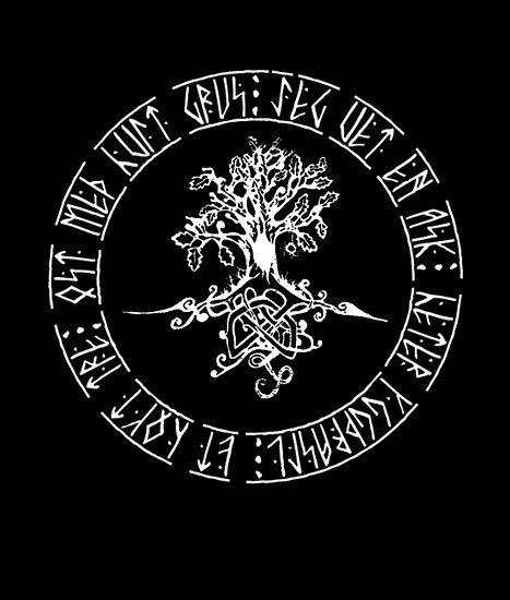 Yggdrasil- Norse tree of life by Antony Potts