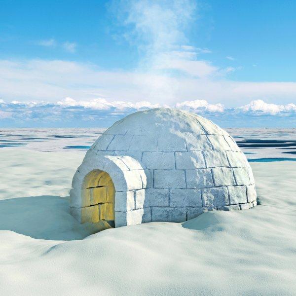 3d accommodation arctic background blizzard blocks bungalow christmas  climate cold construction cubes december dome eskimo flurry