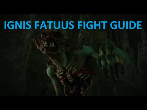 Witcher 3 - Ignis Fatuus Fight Guide - Swamp Thing Contract