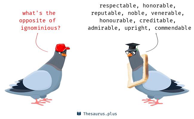 ignominious