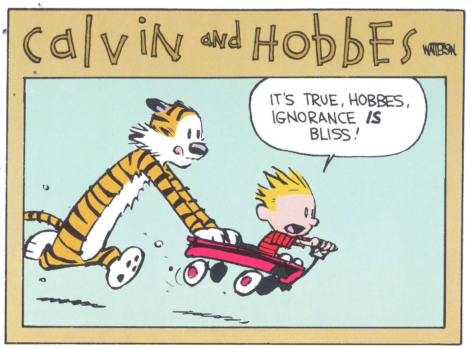 Ignorance – curse or bliss?