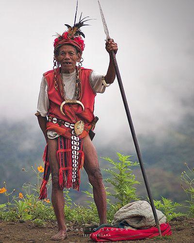 An Igorot warrior, Sagada, Mountain Provinces, Philippines