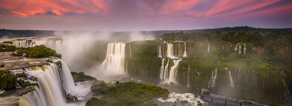 Flights to Iguazu Falls (IGU) from 378 EUR