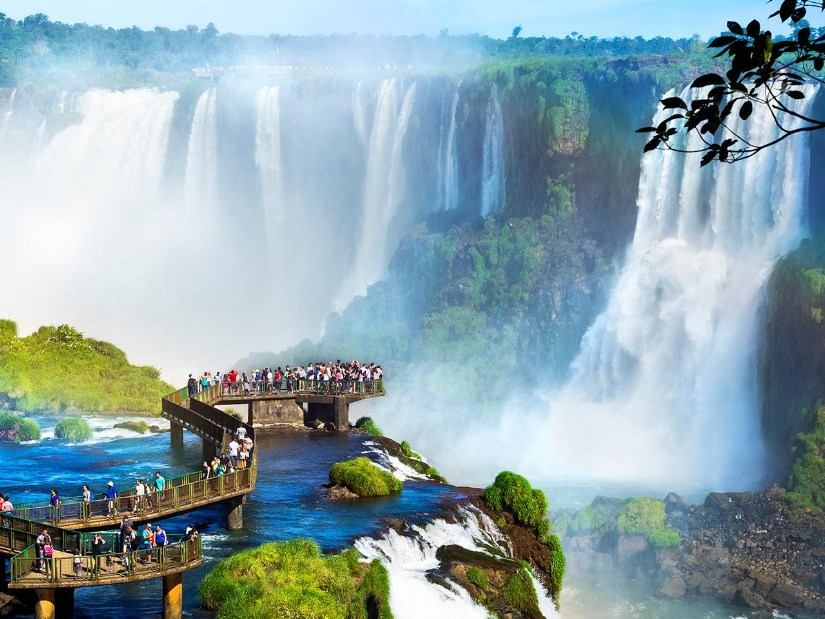Iguazu Falls Brazil Side Sightseeing Tour from Puerto Iguazu