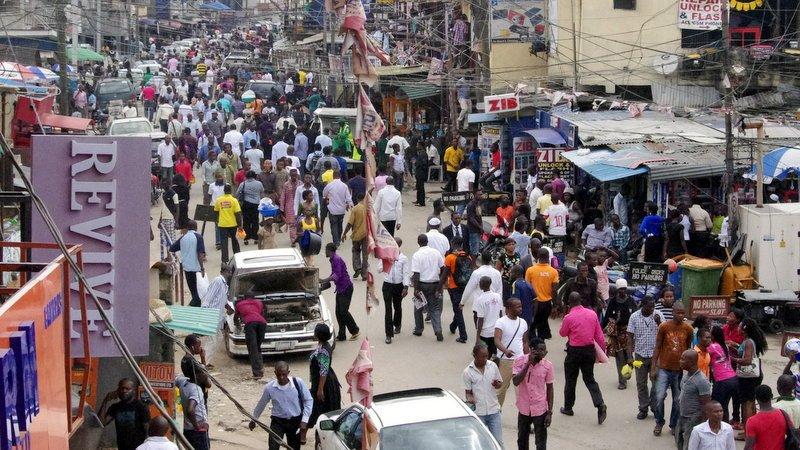 UPDATED: Lagos govt demolishes shops near Ikeja Computer Village