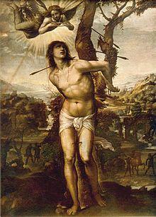 St. Sebastian (1525). Galleria degli Uffizi, Florence