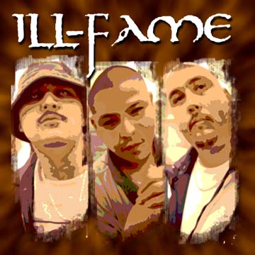 ILL-FAME: Dirty Six(left), R-Sinal (middle), and Sacred(right).