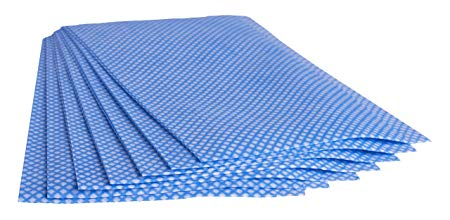 Multi Wipe 50 Extra Large Multi Purpose Heavy Duty Blue Disposable Cleaning  Cloths | J Cloths