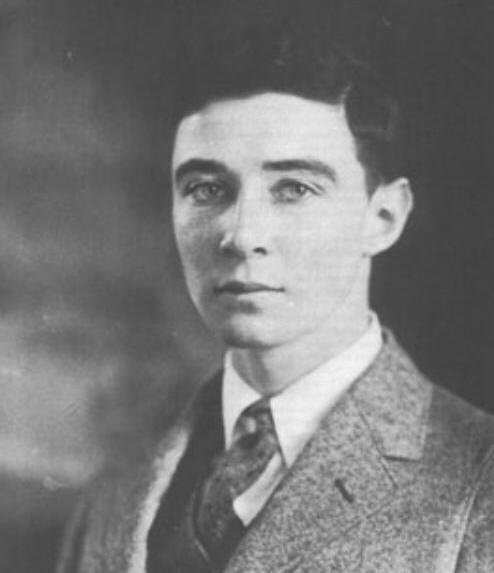 J. Robert Oppenheimer as a young man