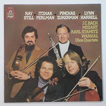 Oboe Quartets: J. C. Bach, Mozart, K. Stamitz, J. Wanhal.