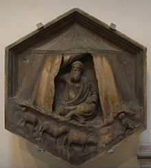 Formella 04, jabal, andrea pisano, 1334-1336.JPG