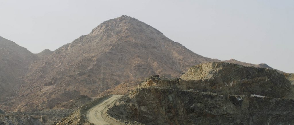 Jabal al-Thawr (Arabic: جبل النور) is a mountain located four kilometres  south of Makkah known for its cave that sheltered the Prophet ﷺ and his  close