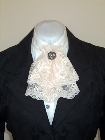Ladies Lace Jabot